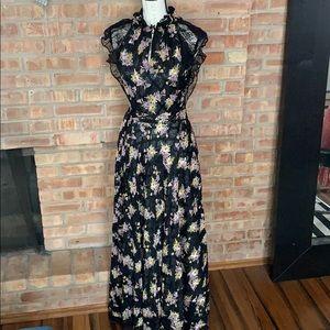 Tahari Lace Maxi Dress/Gown